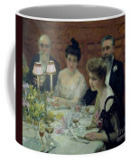 The Corner Of The Table Coffee Mug by Paul Chabas