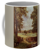 The Cornfield, Detail Of The Harvester, 1826 Coffee Mug