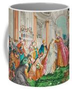 The Coronation Of Esther Coffee Mug