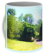 The Country Lane In Spring Time Coffee Mug