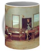 The Country School Coffee Mug by Winslow Homer