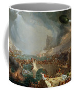 The Course Of Empire - Destruction Coffee Mug by Thomas Cole