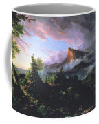 The Course Of Empire - The Savage State Coffee Mug by Thomas Cole