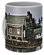 The Cove At Dusk Coffee Mug