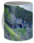The Craggy Pinnacle Tunnel On The Blue Ridge Parkway In North Ca Coffee Mug