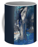 The Creekside Bath Of Alice In Royal Blue Coffee Mug