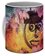 The Creepy All Seeing Bolted Dude Coffee Mug