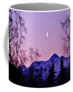 The Crescent Moon In Lavender Coffee Mug