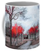 The Crimson Trees Coffee Mug