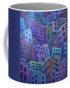 The Crowded City Coffee Mug