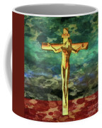 The Crucific Pop Art By Mary Bassett Coffee Mug