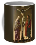 The Crucifixion With The Virgin And Saint John Coffee Mug