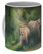 The Cubs Of Katmai Coffee Mug