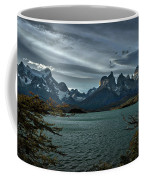 The Cuernos And Lake Pehoe #3 - Chile Coffee Mug