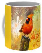 The Curious Cardinal Coffee Mug