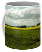 The Curve Of A Mustard Crop Coffee Mug