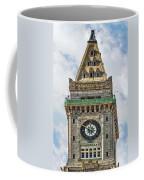 The Customs House Clock Tower Boston Coffee Mug