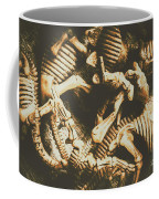 The Dark Dinosaur Abstract Coffee Mug