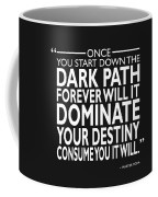 The Dark Path Coffee Mug