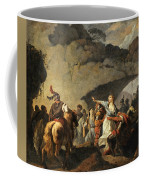 The Daughter Of Ariovistus Made Prisoner By Caesar During The Germans' Defeat Coffee Mug