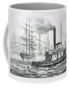 The Days Of Steam And Sail Coffee Mug