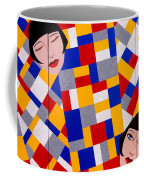 The De Stijl Dolls Coffee Mug