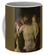 The Dead Christ Supported By Angels Coffee Mug