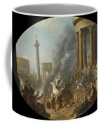 The Death Leap Of Marcus Curtius Coffee Mug