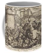 The Death Of Abimelech Coffee Mug