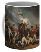 The Death Of General Mercer At The Battle Of Princeton, January 3, 1777  Coffee Mug