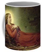 The Death Of Germaine Cousin The Virgin Of Pibrac Coffee Mug by Alexandre Grellet