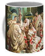 The Death Of Julius Caesar  Coffee Mug