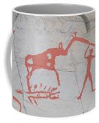 The Deer And Female Hunter Coffee Mug
