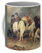 The Deerstalkers Return Coffee Mug by Sir Edwin Landseer