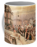 The Departure Of The Volunteers 1792 Coffee Mug by Jean Baptiste Edouard Detaille