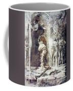 The Descent Into Hell 1468 Coffee Mug