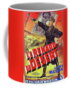 The Desert Fox  James Mason Theatrical Poster Number 2 1951 Color Added 2016 Coffee Mug
