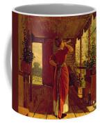 The Dinner Horn Coffee Mug by Winslow Homer