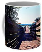 The Dock At Lake George  Coffee Mug