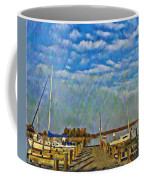 The Dock Of The Bay Coffee Mug