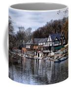 The Docks At Boathouse Row - Philadelphia Coffee Mug