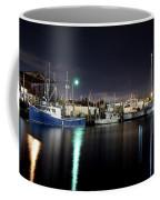 The Docks At Night Coffee Mug