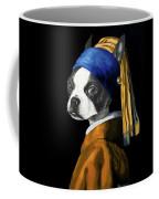 The Dog With A Pearl Earring Coffee Mug