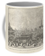 The Doge In The Bucintoro Departing For The Porto Di Lido On Ascension Day Coffee Mug