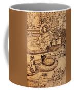The Doll, The Kitties And The Gingerbread Boy Coffee Mug