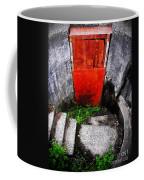 The Door Below Coffee Mug