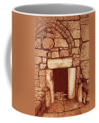 The Door Of Humility At The Church Of The Nativity Bethlehem Coffee Mug