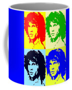 The Doors And Jimmy Coffee Mug by Robert Margetts