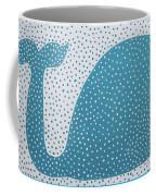 The Dotted Whale Coffee Mug by Deborah Boyd