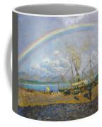 The Downpour. Santona Bay By Dario De Regoyos, 1900. Coffee Mug